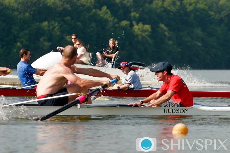 Coxswains racing